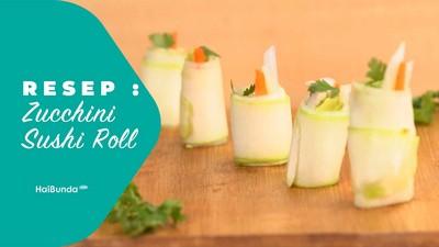 Resep Zucchini Sushi Roll