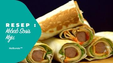Resep Kebab Sosis Keju