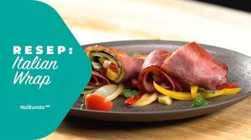 Resep Italian Wrap