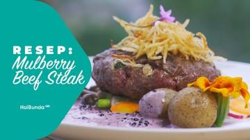 Resep Mulberry Beef Steak