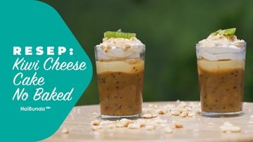Resep Kiwi Cheese Cake No Baked