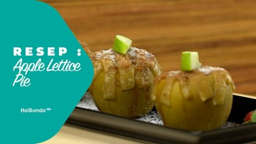 Resep Apple Lettice Pie