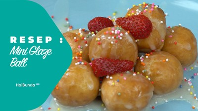 Resep Mini Glaze Ball