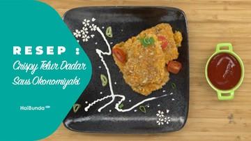 Resep Telur Dadar Saus Okonomiyaki