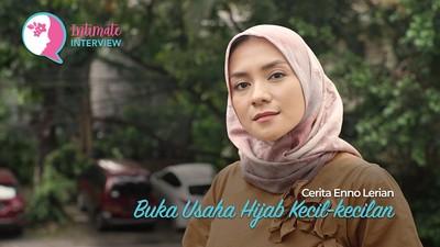 Cerita Enno Lerian Buka Usaha Hijab Kecil-kecilan