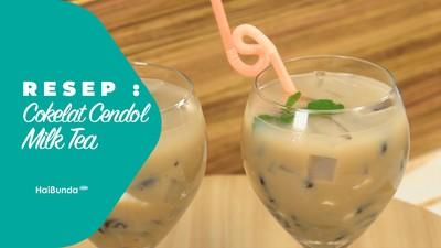 Resep Cokelat Cendol Milk Tea