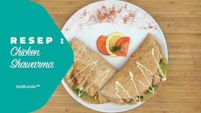 Resep Chicken Shawarma