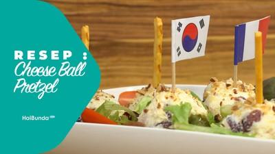 Resep Cheese Ball Pretzel